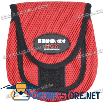 Fishing Lure Bags Wheel Protection Bag Fishing Tools Red-Middle