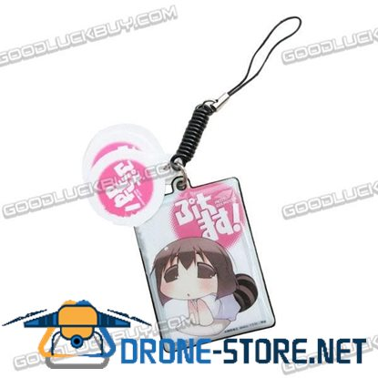 Anime PETIT IDOLM STER Screen wipe Mobile Phone Strap