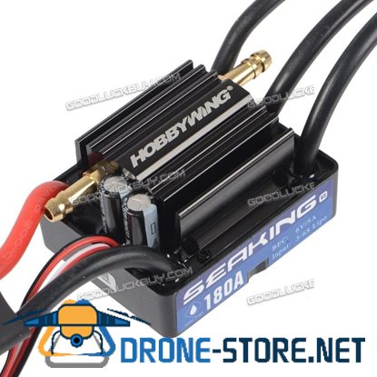 Hobbywing Seaking 180A V3 Electronic Speed Controller ESC for RC Boats