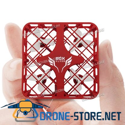 New Micro Quadcopter Box 1602 2.4Ghz 6-Axis Gyro 4CH Mini RC Drone Quadcopter Red