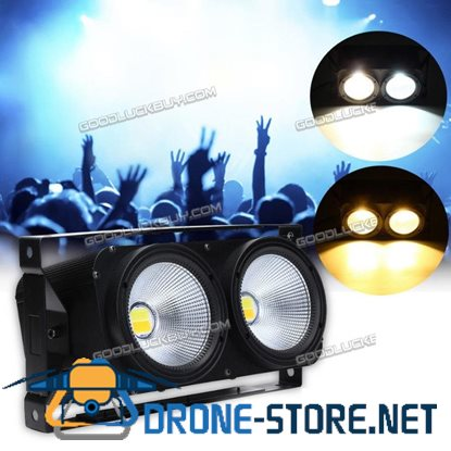 200W COB Light Audience Stage Blinder Lamp LED Wedding White
