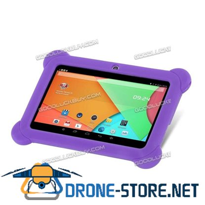 """7"""" Inch Kids Android 4.4 HD Tablet PC Quad Core Wifi for Children Education Purple"""