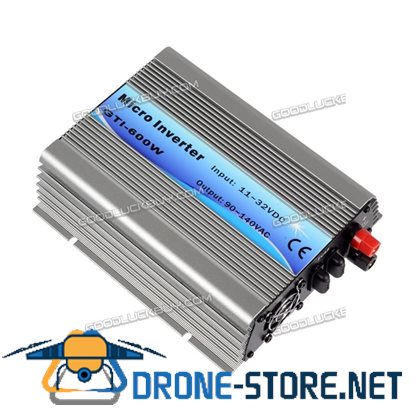 600W Grid Tie Inverter DC11V-32V to AC110V for 18V/36cells Panel SolarEpic Power