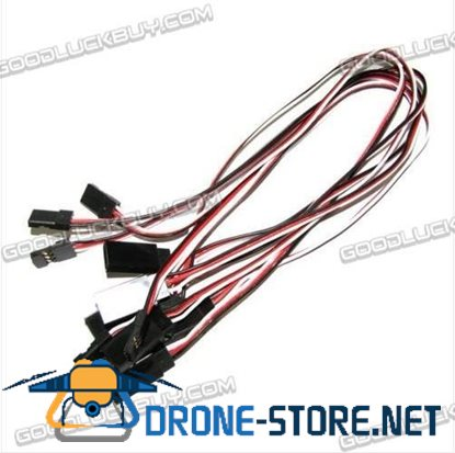 "100 500mm 20"" Servo Extension Cable Lead Futaba JR F"