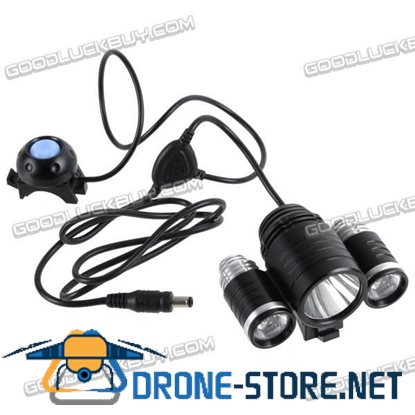 1800LM T6 Bicycle Light Cree XML-T6+2*XPE-R2 LED Bike Light (TrustFire TR-D003)