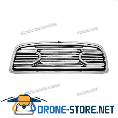 09-12 Dodge RAM Truck 1500 Front Hood Big Horn Chrome Replacement Grille+Shell