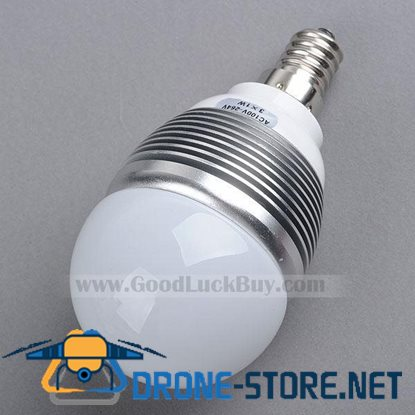 220V E1A LED Warm White Light Spotlight Lamp Bulb 3x1W