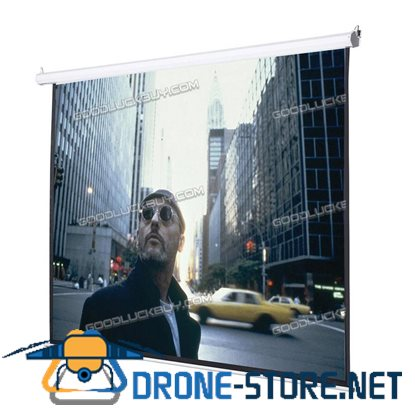 """120"""" 4:3 Auto Electric Projector Projection Screen 96X72 Remote Control Motorize"""