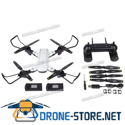 SG-700 Helicopter Quadcopter Foldable Drone 2.4Ghz 4CH WIFI Camera + 2 Batteries