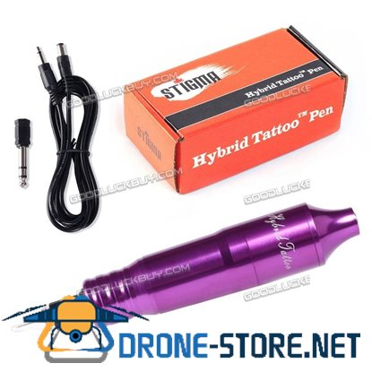 Solong Tattoo Hybrid Tattoo Pen Rotary Tattoo Machine Needle Cartridges EM105 Purple