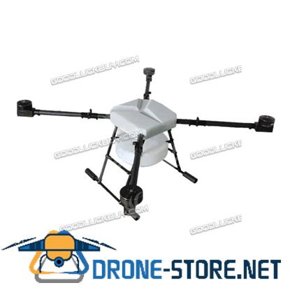 10kg Agriculture Spray 1380mm Carbon Fiber FPV Quadcopter w/ Motor ESC + Landing Gear Skid + Water Tank