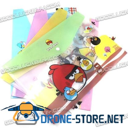 Angry Birds  PVC Bag File Paper Documents Pouch