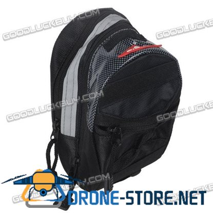 Expandable GIANT Bicycle Bag Bike Pouch With Clamp
