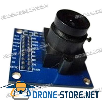 OV7670 CMOS 640*480 Camera Lens Module Bk/Wt Serial Port Image Capturing