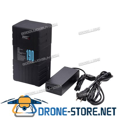 190S POWER-U 190Wh V-Mount Li-ion Battery for SONY RED ONE ALEXA with Charger
