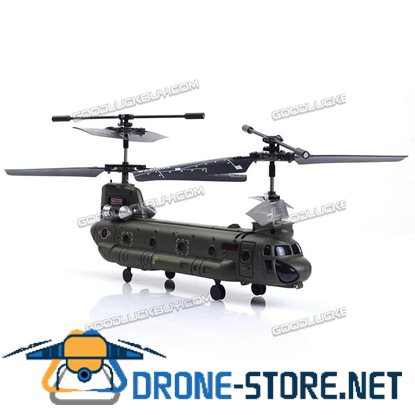 Syma S026G 3CH Remote Control Mini Chinook RC Helicopter with GYRO