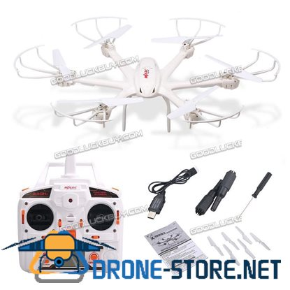 MJX X600 6 Axis 3D Roll LED Hexacopter Drone RC Quadcopter Headless Mode White