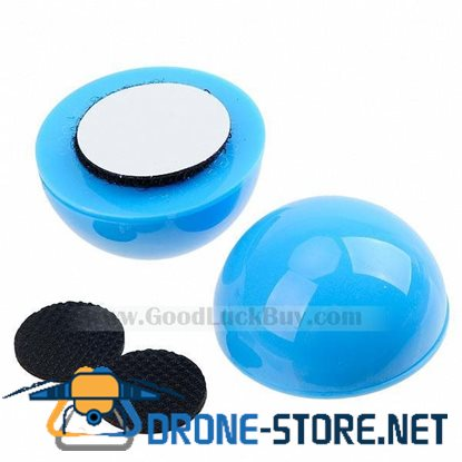 2 x Cool Ball Cooler Antiskid Stand Pad for Laptop Notebook Blue