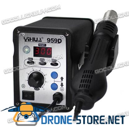 YIHUA 959D 700W Hot-Air Rework Station with Digital LED Temperature Display 220V