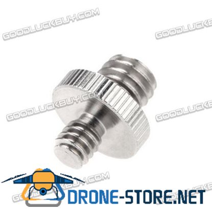 1/4 Male to 3/8 Male Double Male Screw Adapter for Photography Camera