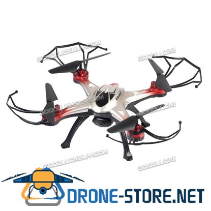 JJRC H29G 2.4G 4CH 6 Axis Gyro FPV RC Quadcopter Drone w/ 2MP HD Camera Red