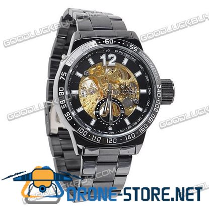 Stainless Steel Automatic Mechanical Men Wrist Watch IK Colouring 98236-2