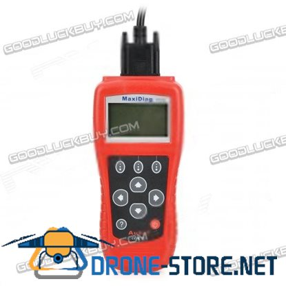 "MaxiScan FR704 2.7"" LCD Code Scanner Reader Diagnostic Tool for Renault / Citroen / Peugeot - Red"
