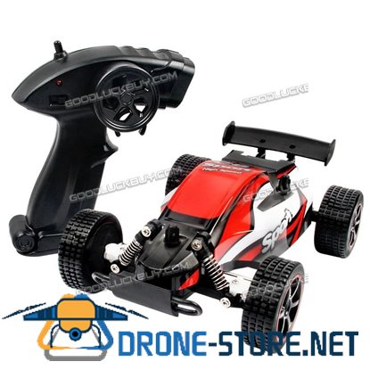 1/20 2WD High Speed Radio Remote Control RC Racing Buggy Car Off Road Truck RTR Red
