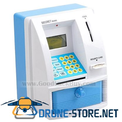 Mini ATM Coin Bank with LCD