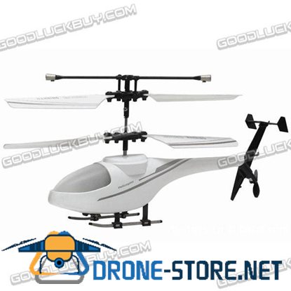 Apple iPhone iPod iPad IR Controlled 3CH R/C I-Helicopter with Gyroscope White 171