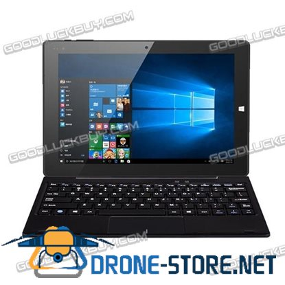 "10.1"" CHUWI Hi10 4GB/64GB 64bit Windows 10 Tablet PC IPS Full HD Laptop w/ Keyboard"