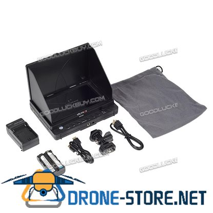 7'' Viltrox DC-70EX HDMI/SDI/AV Video LCD HD Monitor F SLR Camera Battery+Charge