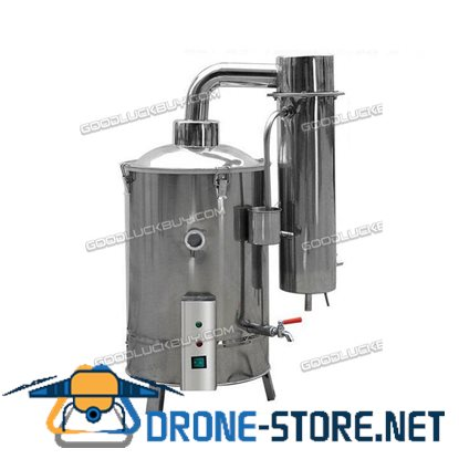 10L Medical Home Pure Water Electric Stainless Distiller Moonshine Still