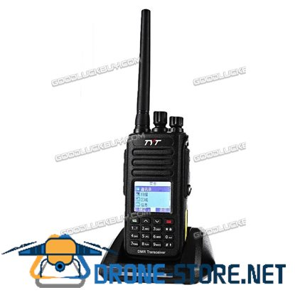 TYT MD-390 UHF DMR 400-480Mhz IP67 Analog Dual Band 1000CH Digital 2-Way Raido