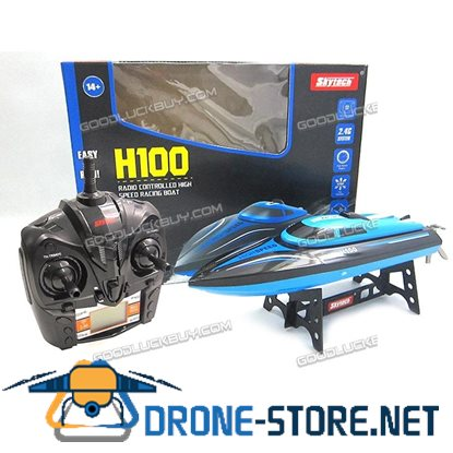 Skytech H100 2.4G 4CH Water Cooling High Speed RC Remote Control Self Right Racing Boat