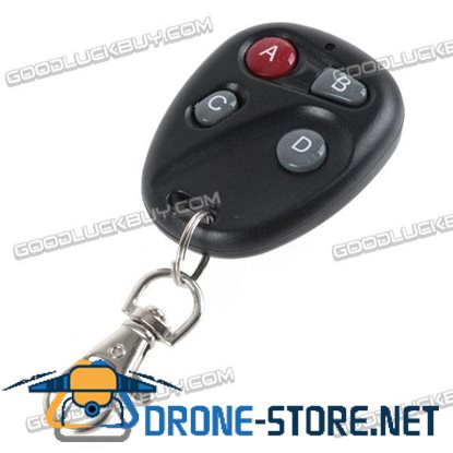 4-Button Wireless Learning Remote Control for Car Garage Door 315MHz 04-B