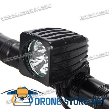 3000LM CREE-XM-T6 Waterproof LED Bike Light Bike Lamp Headlamp with Red Tail Light for Outdoor Activity LT-3T6