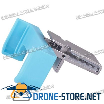 iphone4/4S/5/5C/5S Universal Dock Vehicle Mobile Phone Clamp Clip Support Base Holder Blue