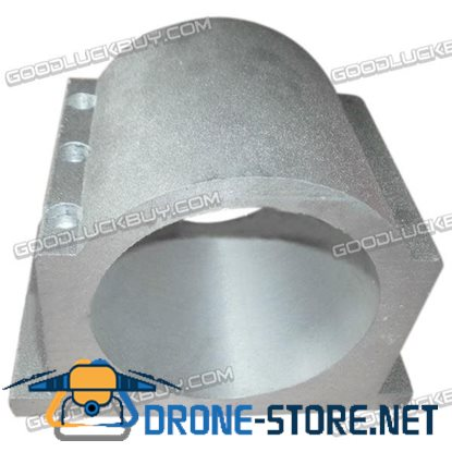 110mm Aluminum CNC Main Shaft Integrated Fixture Clamp Bracket 120mm for Carving Machine