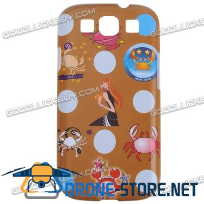 Stylish Full Body Series Hard Case Cover For Samsung Galaxy S3 i9300-Cancer Design