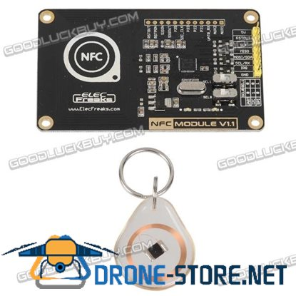 13.56MHz NFC / RFID Module PN532 Development Board w/ PCB Antenna / Cipher Key