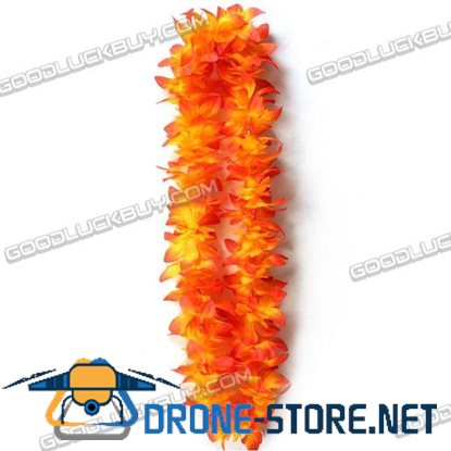 "40"" HaWaiian Lei Beads Flower Garland for HaWaii Luau Beach Party"