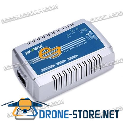 EV-Peak E3 35W 3A 2S-4S LiPo Battery Smart AC Balance Charger for RC Airplane