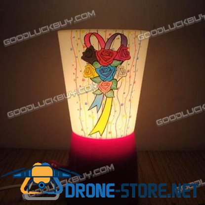 Novelty Design Deco Lamp Mug Warm Table Bedroom Lamp Light
