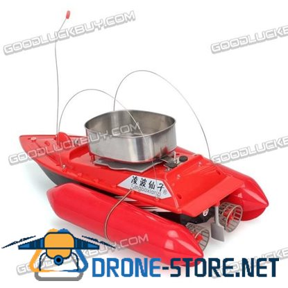T10 Mini Carp Bait Fishing Fish Boat Course 300M with Remote Control Red