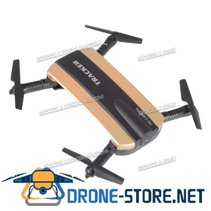 JXD 523W Altitude Hold HD Camera WIFI FPV RC Quadcopter Drone Selfie Foldable Gold