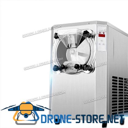 R410A Commercial Hard Ice Cream Machine Frozen Ice Cream Maker 22L/H 7.81Gal/H