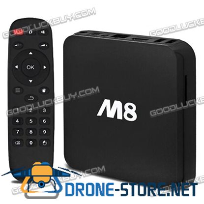 Bluetooth XBMC Media Player Android M8 Amlogic S802 Quad Core 4K Smart TV Box
