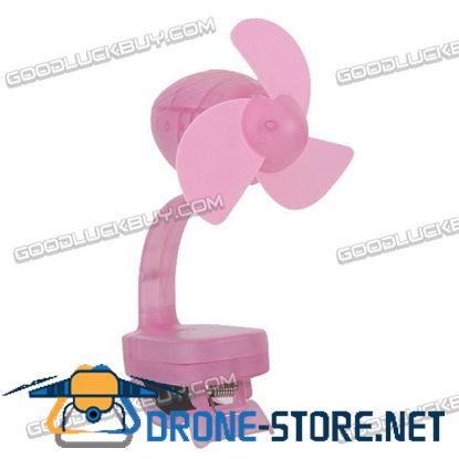 Clip Style Mini Handy Fan Promotional Cute Fun With USB Interface