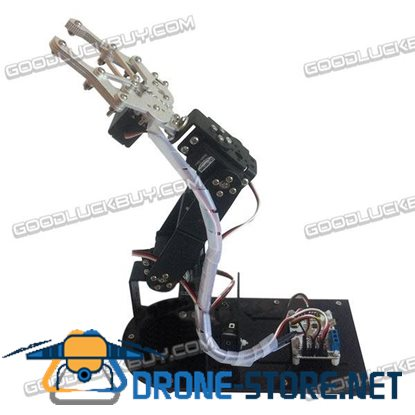 4DOF Standard-equipped  Mechanical Arm Metal Structure Holder Kits with MG996R 995R Servos for DIY
